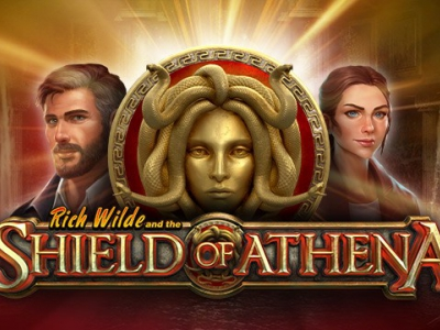 Play'n GO lanceert nieuwe slot: Rich Wilde and the Shield of Athena